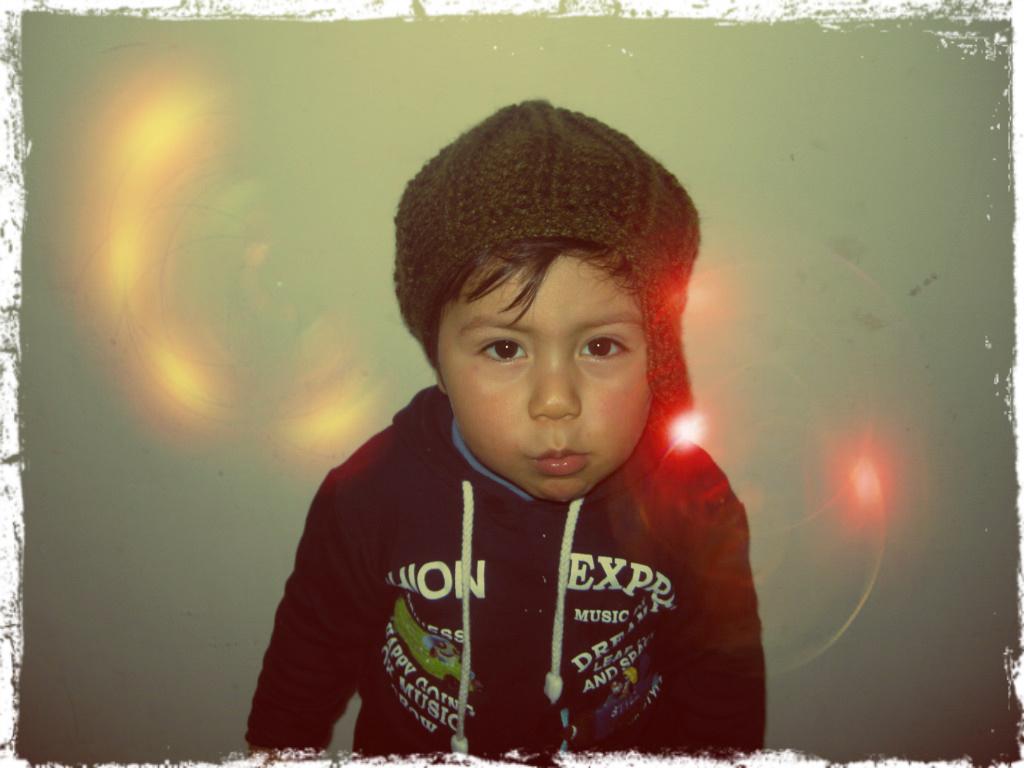 Boina de lana para niño con visera - Color a elección - Gorritos de ... c1ed64c2bd7
