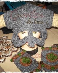 gorro lana vikingo